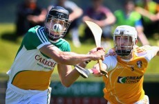 Heartbreak for Antrim as late Kenny goal helps Offaly advance in SHC