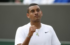 Kyrgios' between-the-legs winner against Nadal is shot of the tournament at Wimbledon