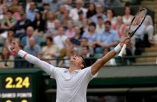 Raonic ends 106-year Canadian wait at Wimbledon in setting up semi-final with Federer