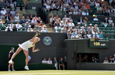 Bouchard not satisfied by reaching last four as Halep stands in the way of final