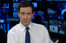 """UK finance minister George Osborne makes a hames of kid's question: """"What's 7 times 8?"""""""