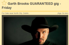 'Guaranteed' Garth Brooks tickets are ALREADY selling at inflated prices