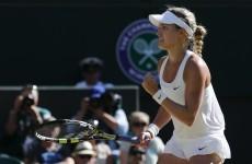 Go Canada! Bouchard burns off Halep to reach Wimbledon final and make history