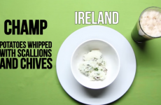Apparently Champ is Ireland's most popular drunk food