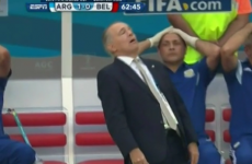 Comedy World Cup gold as Argentina coach almost does a Del Boy