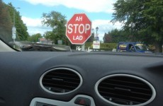 The perfect stop sign in Tipperary