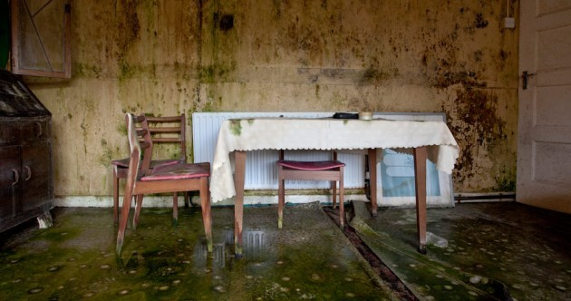 Eerie pics show Dublin flats still bearing signs of past residents