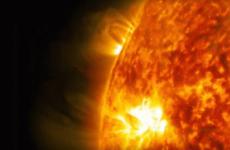NASA captures stunning footage of rare solar flare