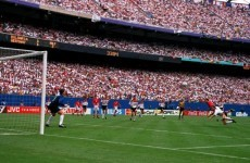 Flashback: Letchkov heads Bulgaria to the 1994 World Cup semi-finals