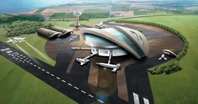 Forget the package holiday. A spaceport for commercial flights is being built in the UK