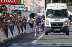 Was this the bravest individual effort of this year's Tour de France?