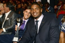 'Have the courage to be yourself' – Michael Sam's moving awards speech