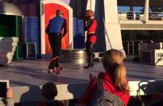 Elastigirl's face falls off during mortifying Disneyland entrance