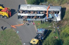 At least nine people killed in early-morning tourist bus crash in Germany