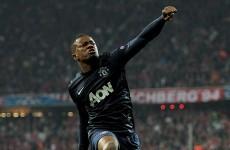 Evra thanks Alex Ferguson as he walks away to Juventus on €1.5 million fee
