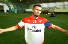 Arsenal players make the worst attempt at an accent since Tom Cruise in Far & Away