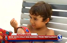 Little boy banned from doughnut shop for asking woman if she was pregnant