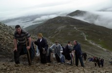 Two people airlifted from Croagh Patrick as thousands make pilgrimage
