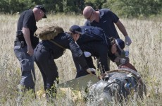 Shelling hampers search as experts continue to scour MH17 site
