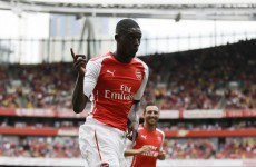All the goals as four-goal Sanogo upstages Sanchez in Arsenal romp