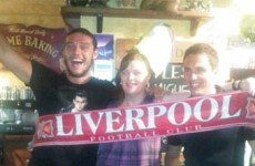 Is this picture of Stuart Downing and Andy Carroll fake? Aston Villa say so…
