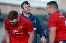 Munster head coach Foley relishing the pressure of first season