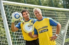 Davids James and Ginola talk the new season and nearly taking up rugby with Stade Français