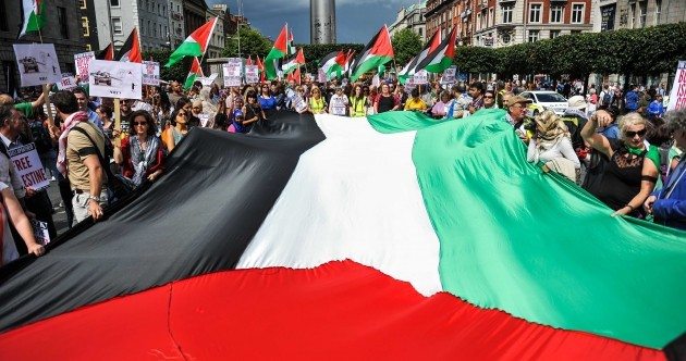 Up to 7,000 march as Dublin comes out in force to support Gaza