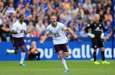 Aiden McGeady has scored for Everton with an absolute peach