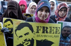 Ibrahim Halawa beaten with metal chain in Egyptian prison, says sister