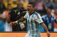 'It feels like a dream': Marcos Rojo tells the world his move to Man United is sealed