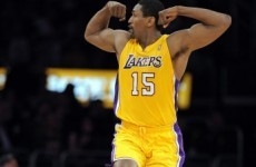 """Lakers' Ron Artest is changing his name to """"Metta World Peace"""" to prove he's still crazy"""
