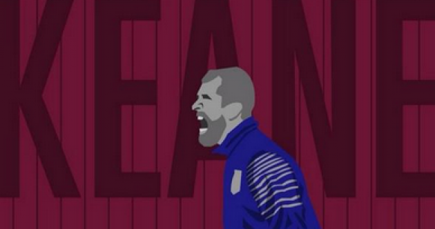 Check out this class image of Roy Keane as football hipster