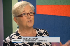 Former Fianna Fáil TD Noel Dempsey was looking very well on the news last night…