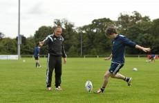 Jonny Wilkinson's kicking guru tries to teach TheScore.ie a thing or two