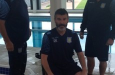 Roy Keane tries to look cool doing ice bucket challenge, nominates Martin O'Neill