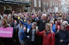 300 attend anti-abortion rally outside Leinster House