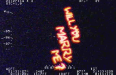 'Most romantic' proposal goes viral after being filmed by police helicopter
