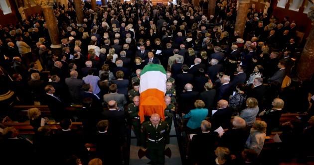 In pictures: Albert Reynolds' funeral