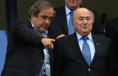 Platini says he will not challenge Blatter for top FIFA job