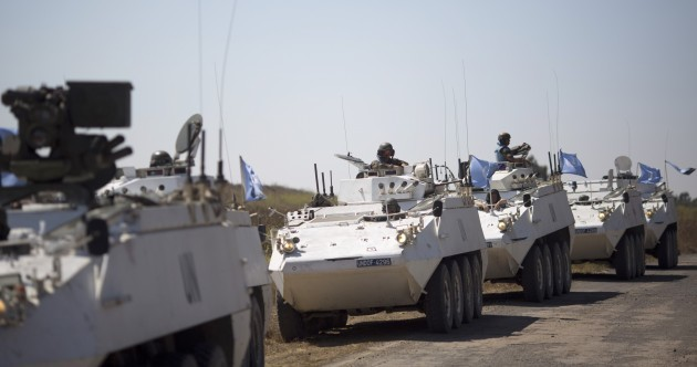 No Irish troops among dozens of peacekeepers captured in the Golan Heights