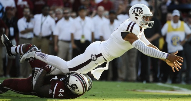 Meet 'Kenny Football,' the new Texas A&M quarterback who did something Johnny Manziel never did in week 1