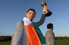 Paul McGinley appoints Pádraig Harrington as Ryder Cup vice captain