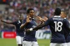 France overcome Spain thanks to Chelsea's new striker Loïc Rémy