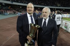 Napoli: Benitez AWOL rumours ridiculous
