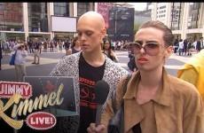 Fashionistas at New York Fashion week lie about loving fake designers