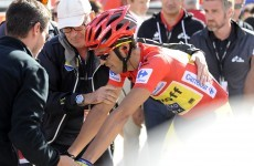 Contador closes on Tour of Spain treble, Ireland's Dan Martin drops to seventh