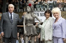 A memorial statue to Amy Winehouse has been unveiled in London