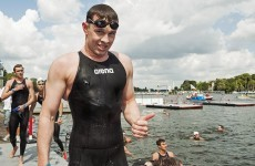 Caffeine, chaos and effortless power: The science behind Chris Bryan's swimming success