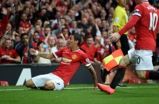 Van Gaal underlines title ambition and asks more of Di Maria